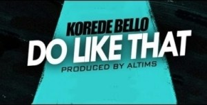 Instrumental: Korede Bello - Do Like That (Beat By Karijon)